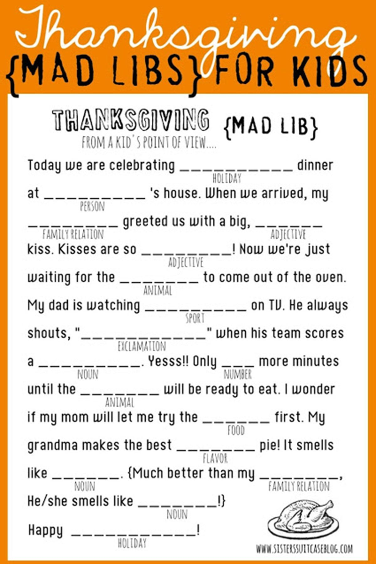 Massif Camping Mad Libs Printable