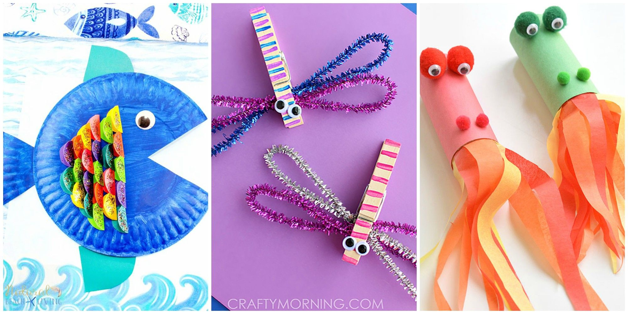 Learn more about fun and easy paper art crafts for kids. 15 Easy Craft Ideas For Kids Fun Diy Craft Projects For Kids To Make
