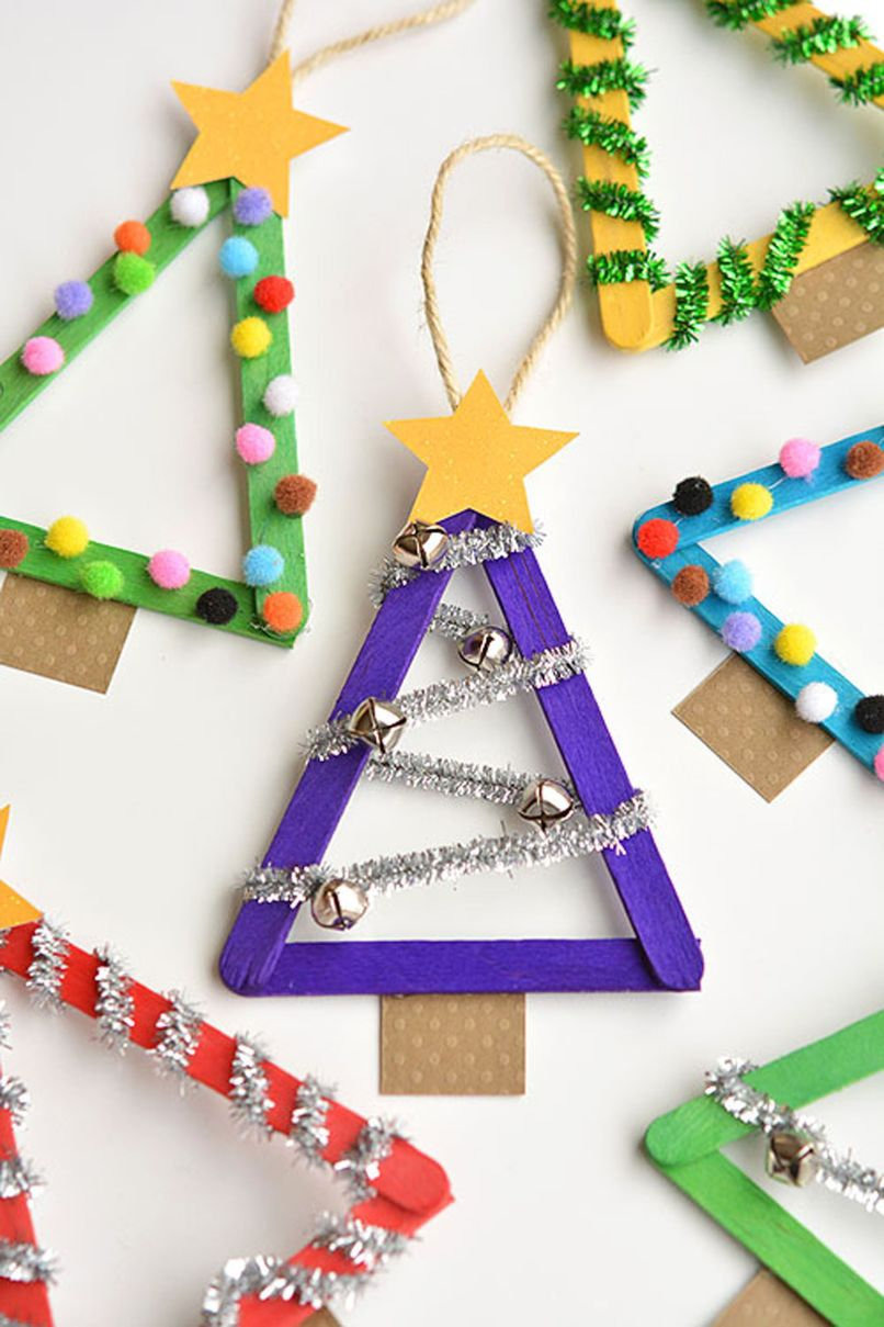 Christmas Ornament Crafts For Toddlers Age 2 3 Why Santa Claus