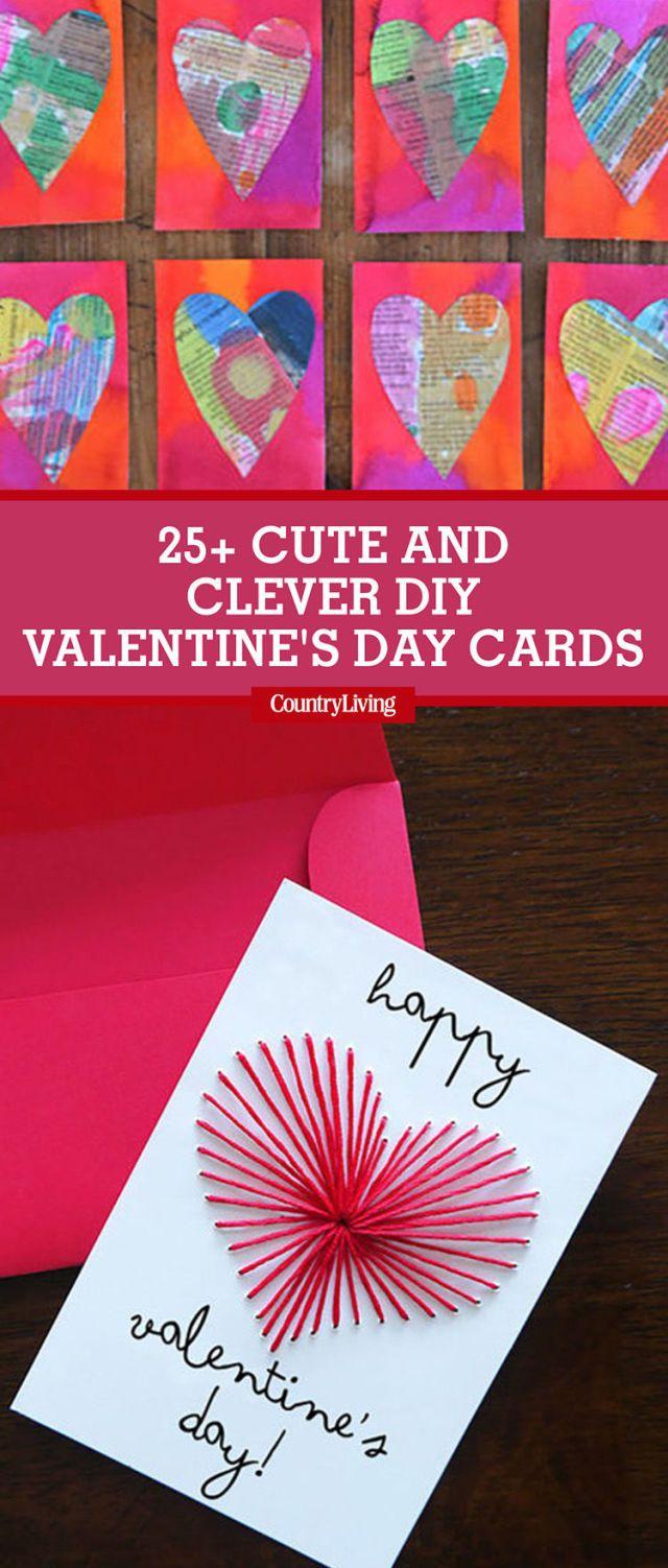 26 DIY Valentines Day Cards Homemade Valentines