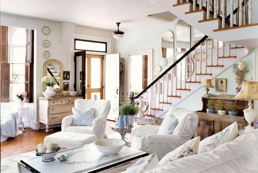 10 shabby chic living room ideas