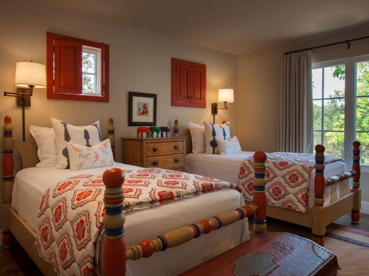 Santa Fe New Mexico Adobe Home Southwestern Decorating Ideas
