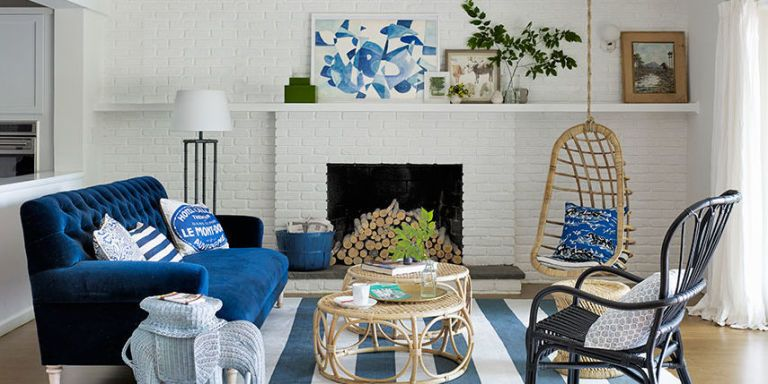 25 Best Blue Rooms   Decorating Ideas for Blue Walls and Home Decor living room