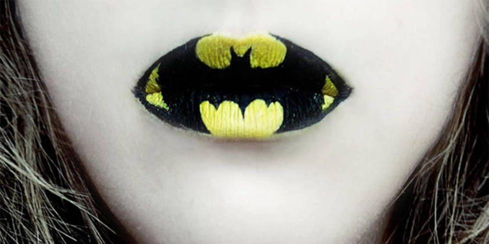 Halloween lips by makeup artist Eva Senín Pernas