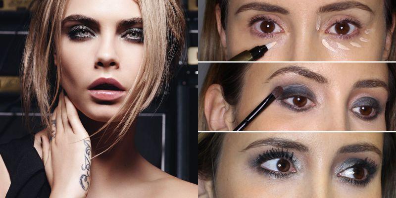 Cara Delevingne Smokey Eye Makeup Newmakeupjdi Co