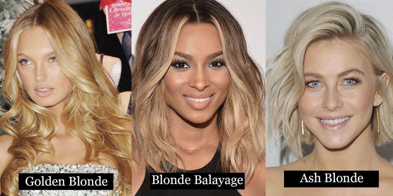 24 Blonde Hair Colours From Ash To Dark Blonde Heres
