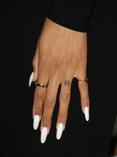 Even Though Your Acrylic Nails Are On Fleek You Can T Help But Feel A Little Bad For Real Underneath