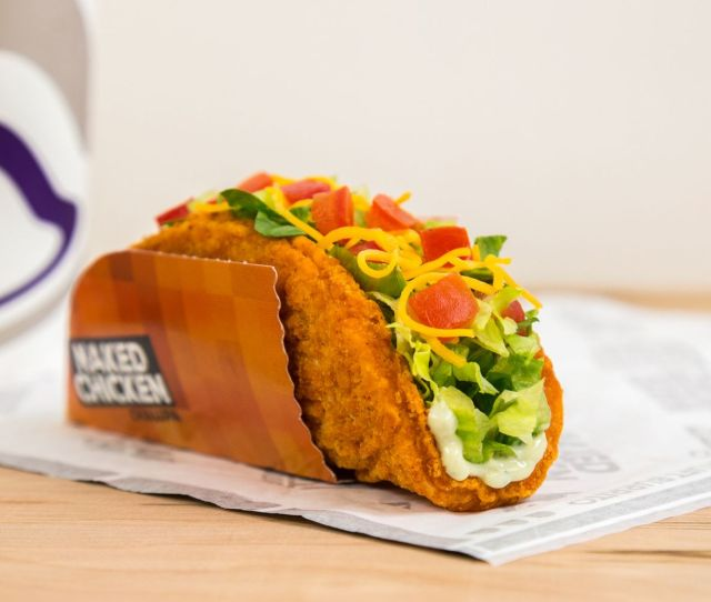 Updated Naked Chicken Chalupas Are Back At Taco Bell