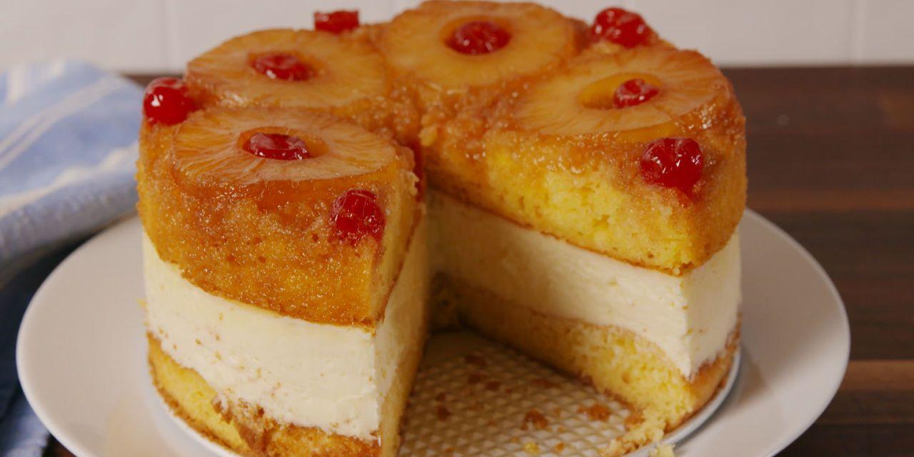Best Pineapple Upside Down Cheesecake Recipe How To Make