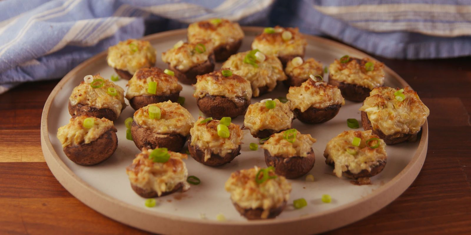 Best Crab Artichoke Stuffed Mushroom Recipe How To Make