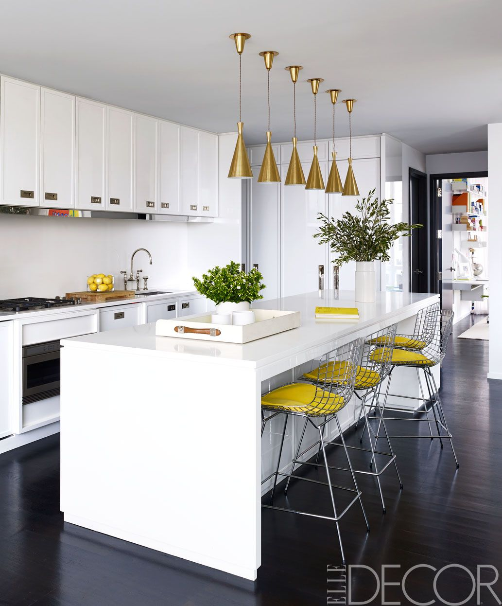 Best White Kitchens Design Ideas Pictures Of White Kitchen Decor Elledecor Com