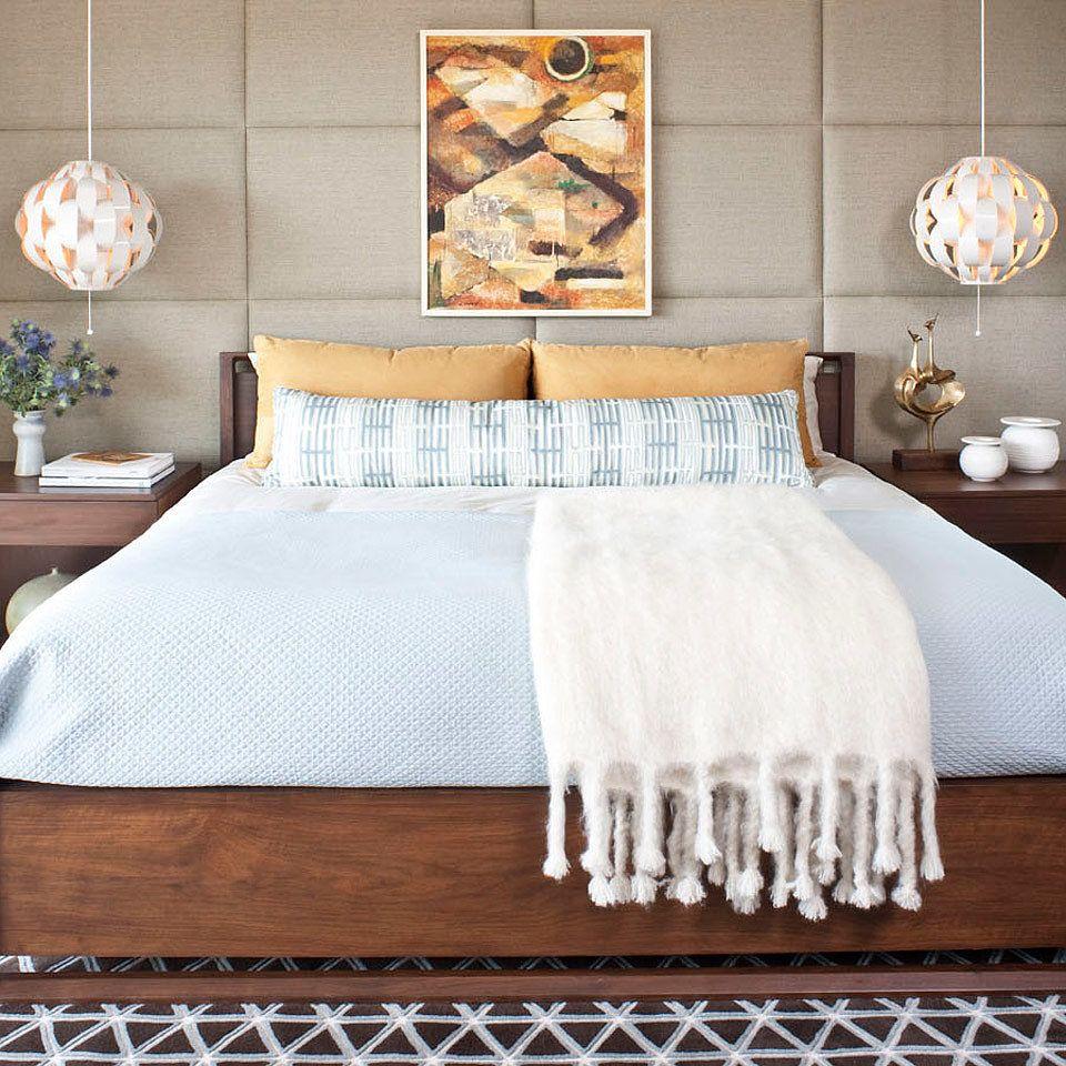 bedroom wall decor & art ideas - bedroom artwork - elledecor