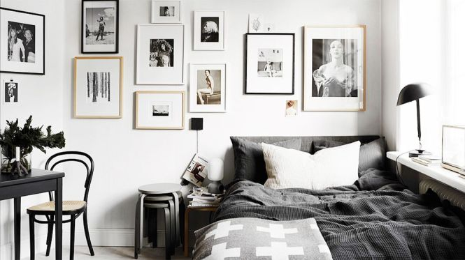 Black And White Bedroom Ideas Pinterest Photo 3