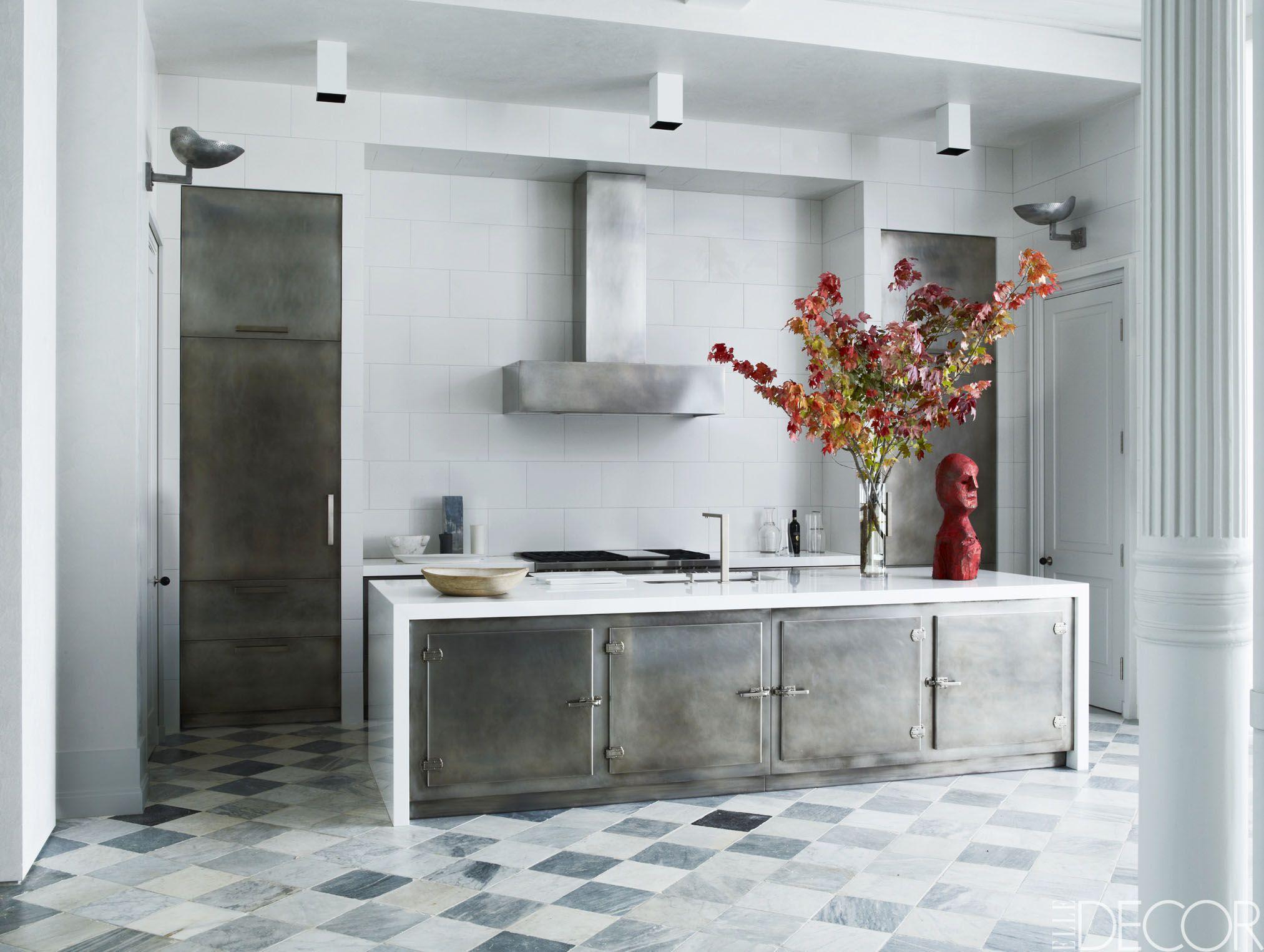 26 gorgeous black & white kitchens - ideas for black & white kitchen
