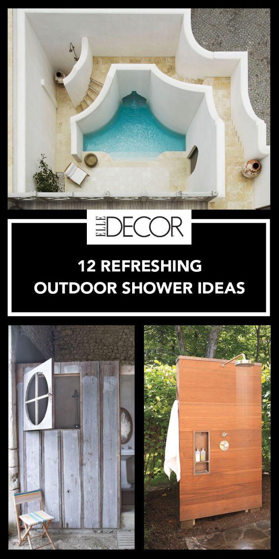 Entry Elledecor 12 Outdoor Shower Design Ideas Chic Enclosures For Showers