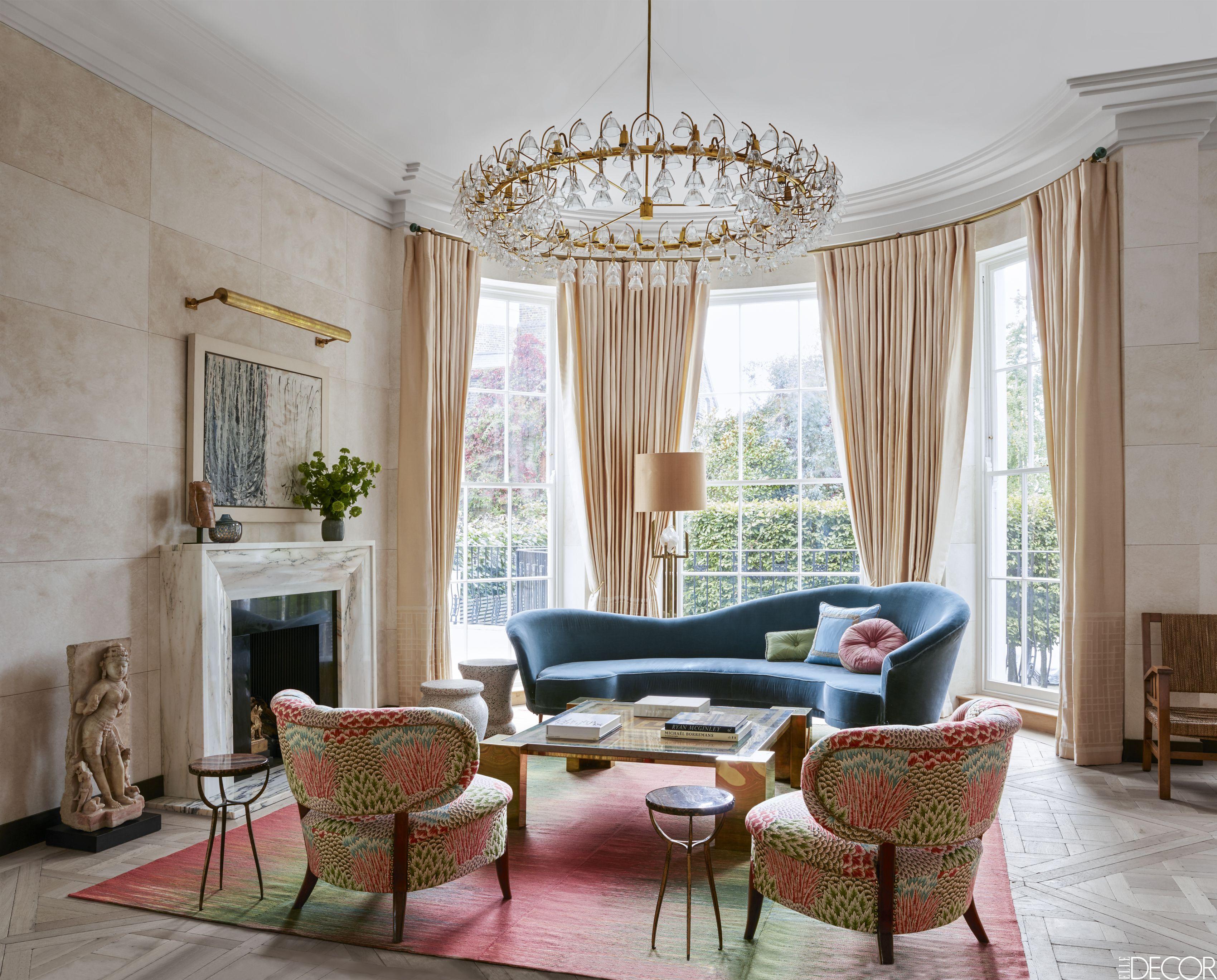 50 Inspiring Curtain Ideas - Window Drapes for Living Rooms on Living Room Drapes Ideas  id=78199