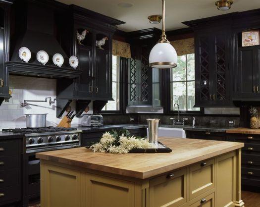30 Best Black Kitchen Cabinets Design Ideas With Cupboards