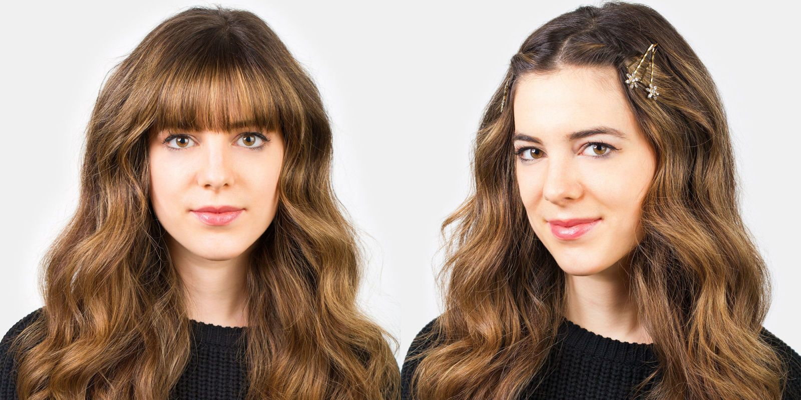 how to style bangs 5 hairstyles to
