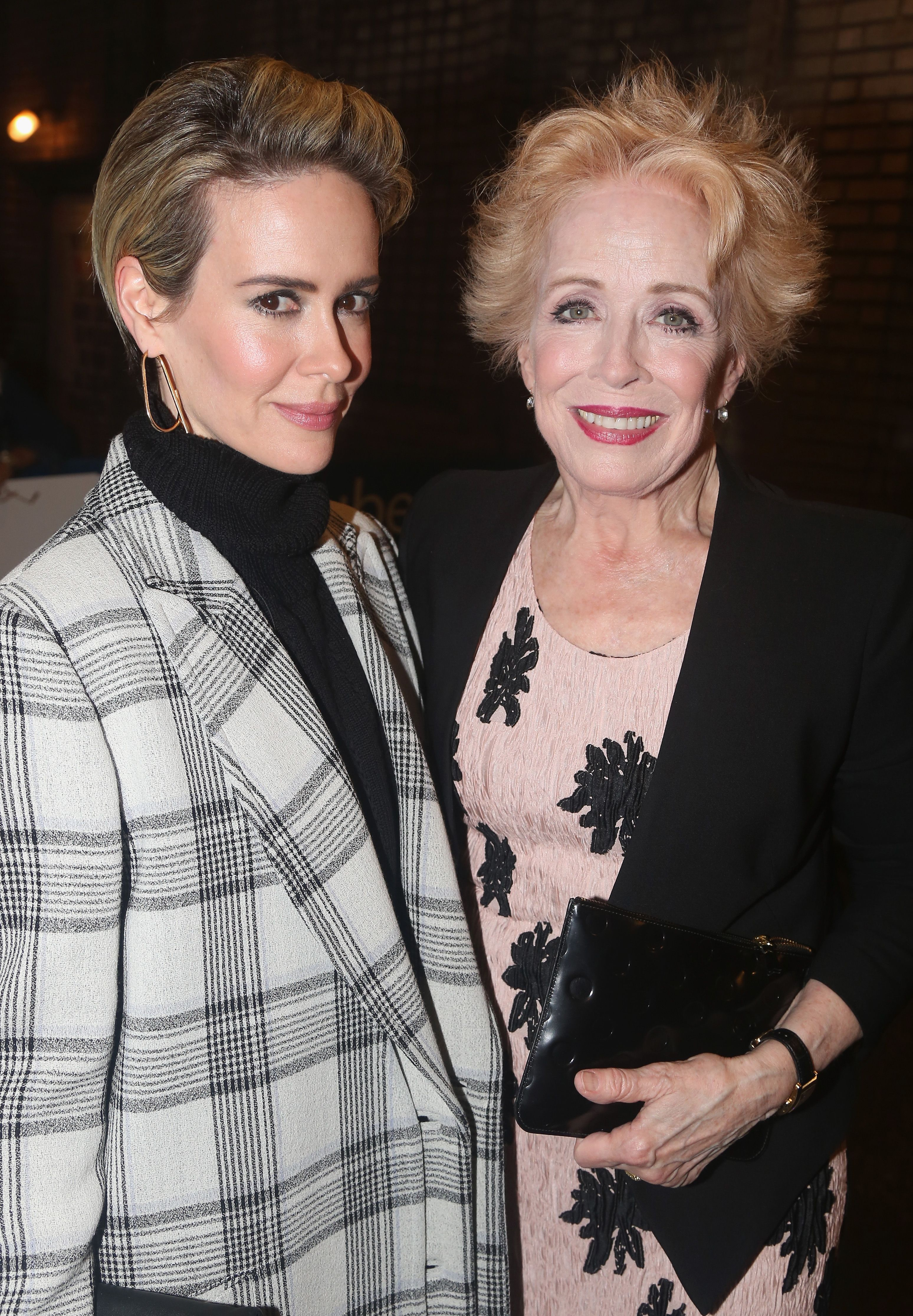 Sarah Paulson Has No Time For Critics Of Her Girlfriend Holland Taylor