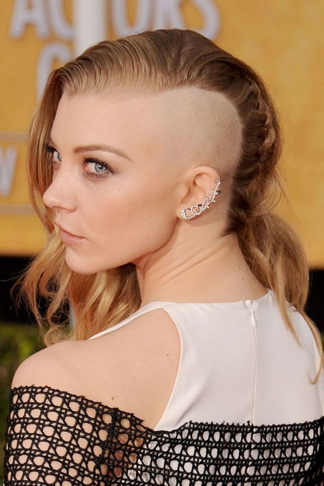 weird celebrity hairstyles - celebrities with edgy hair