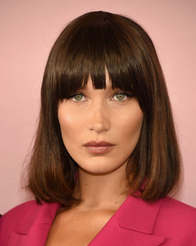 best fringe hairstyles for 2019 - how to pull off a fringe