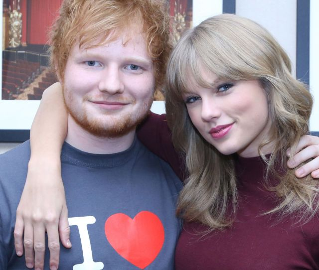 Ed Sheeran And Taylor Swift Elle Uk