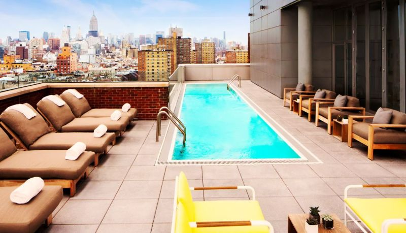 These Are New York's 6 Best Hotel Pools 4