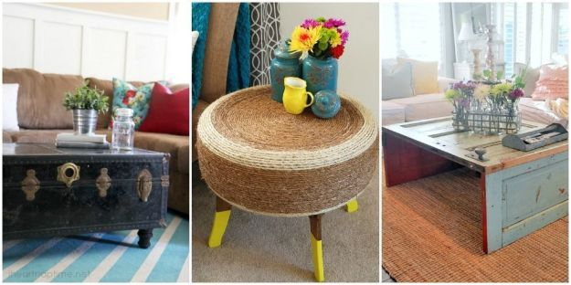 unique coffee table ideas - coffee table alternatives