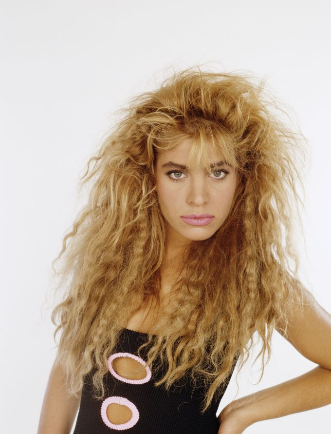 bad '80s beauty trends - embarrassing eighties hairstyles and makeup