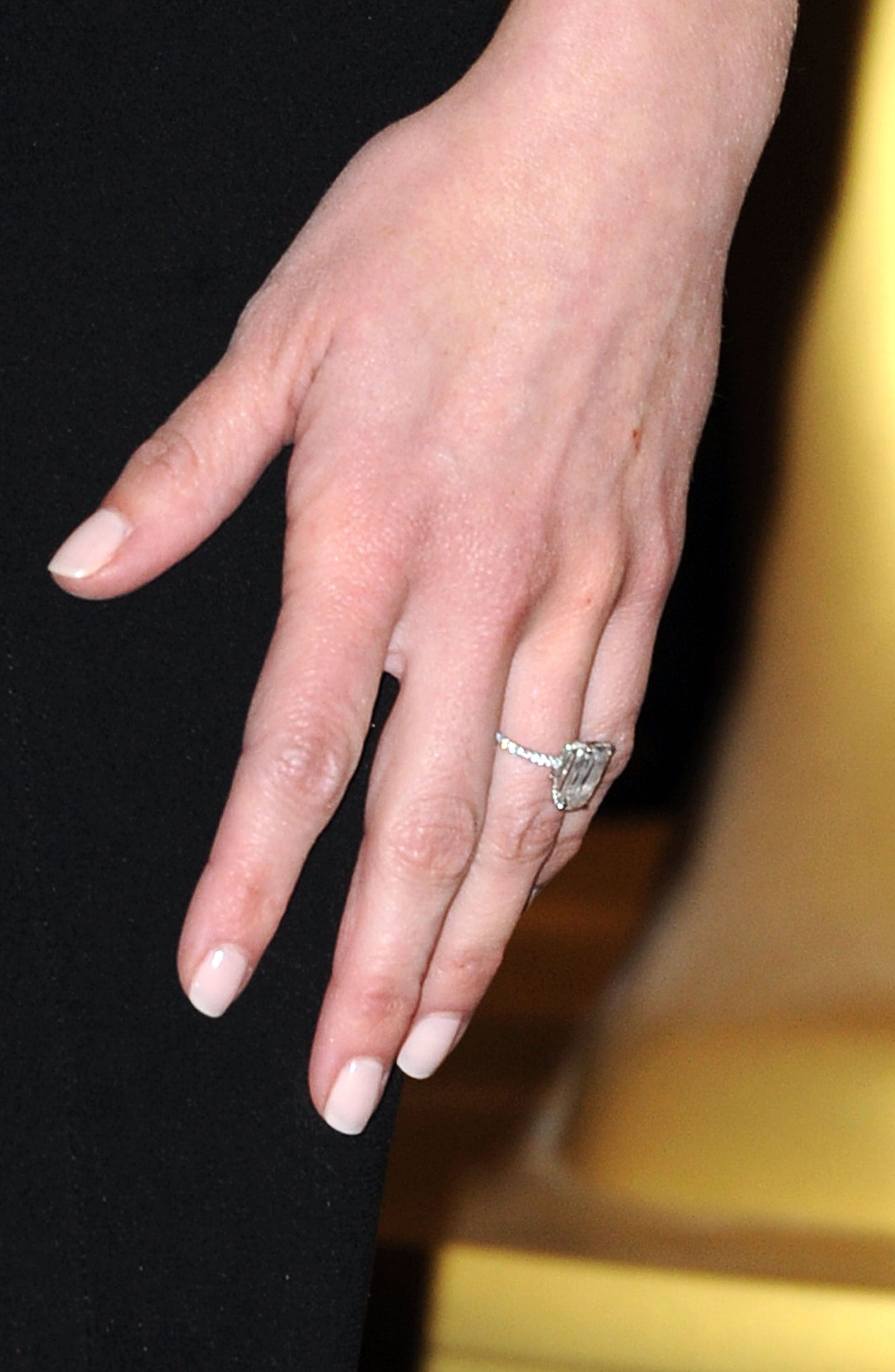 Drew Barrymore Engagement Ring 2012