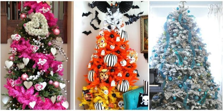 Holiday Trees To Decorate Your Home All Year