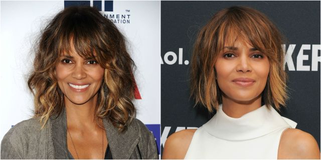40 best celebrity haircuts - celebrity hair makeovers