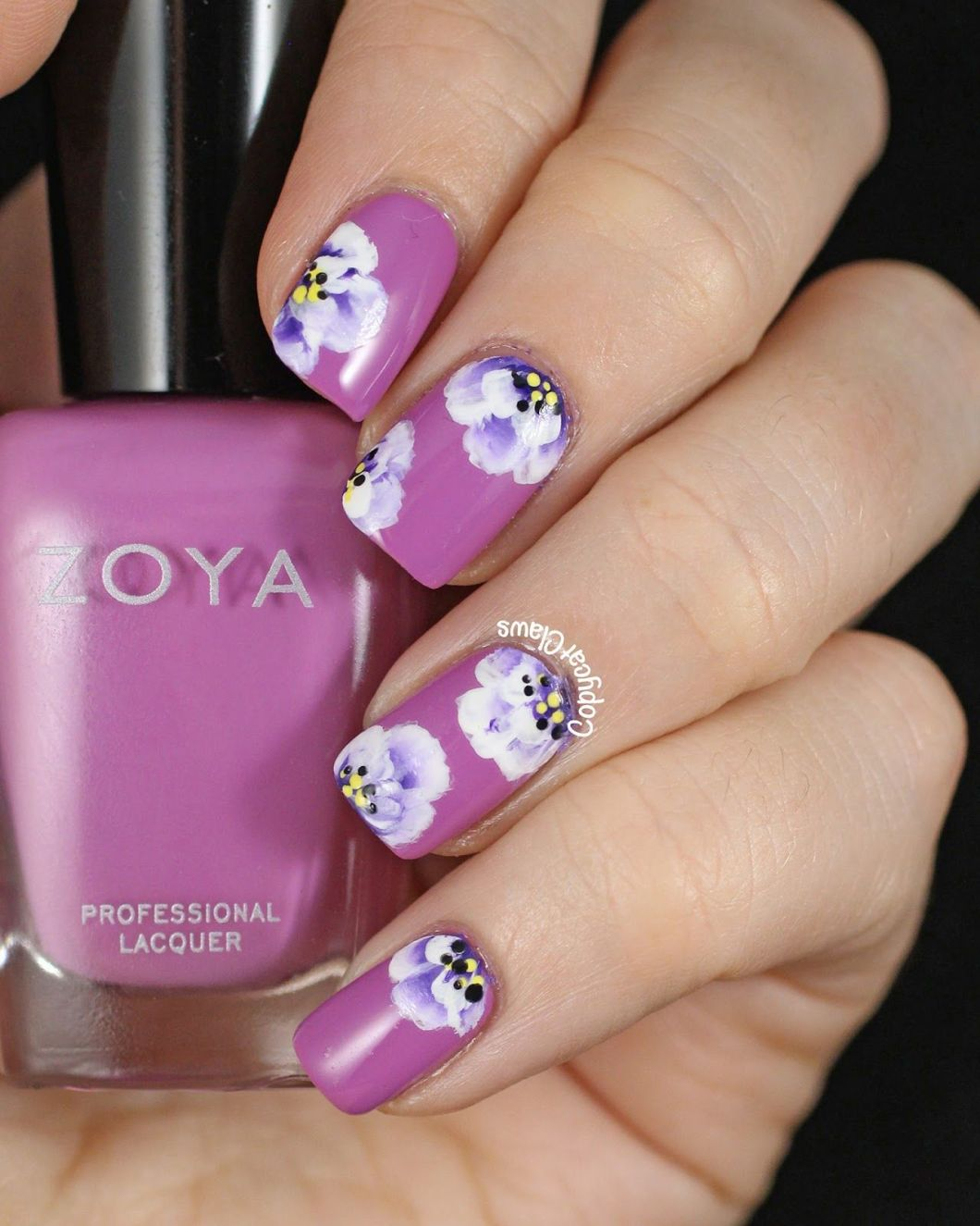 Cute Easy Flower Nail Designs Kayaflower Co