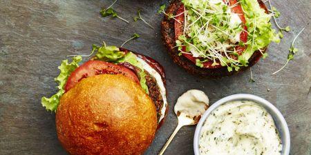 Mushroom-Quinoa Burger