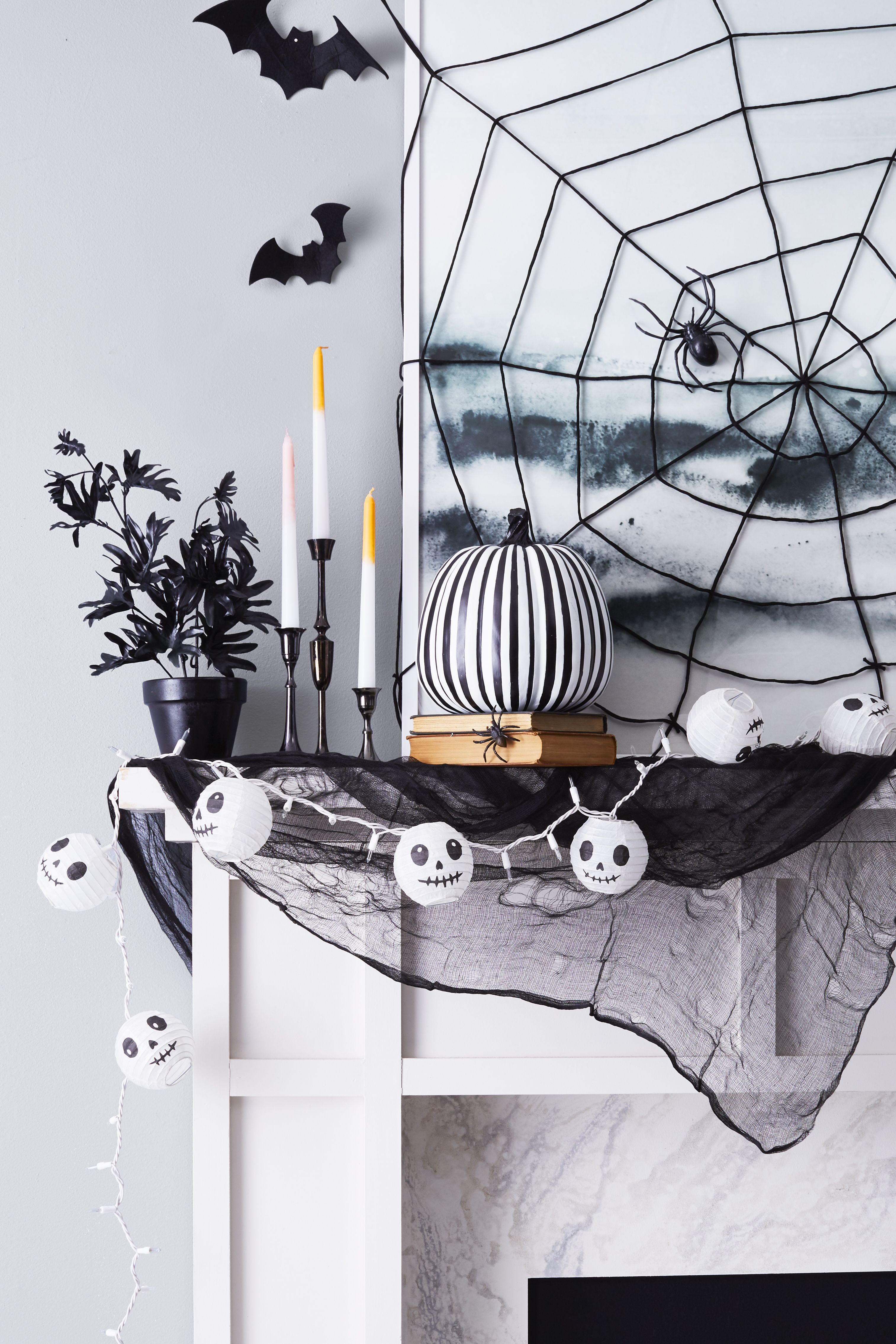 Besides, what better way to enjoy costumes and treats than to throw a halloween party. 87 Easy Diy Halloween Decorations 2021 Cute Halloween Decorating Ideas