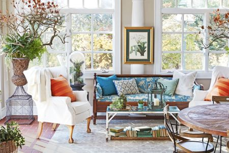 10 Sunroom Decorating Ideas   Best Designs for Sun Rooms deborah herbertson connecticut cottage sunroom