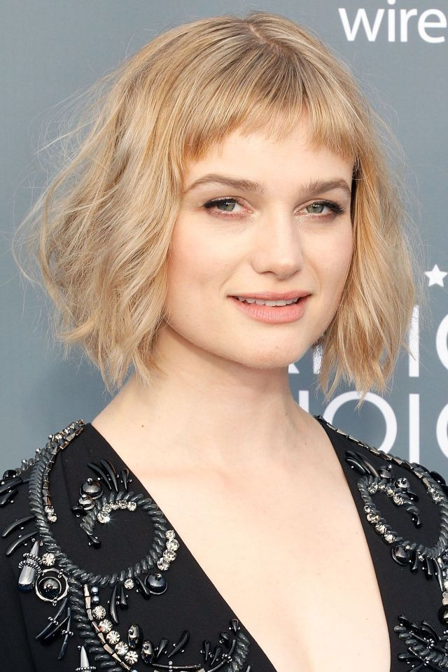 35 best hairstyles with bangs - photos of celebrity haircuts