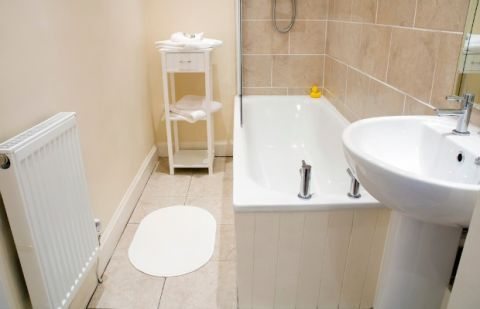 Best Paint Colors For Beige Tiled Bathroom How To Paint