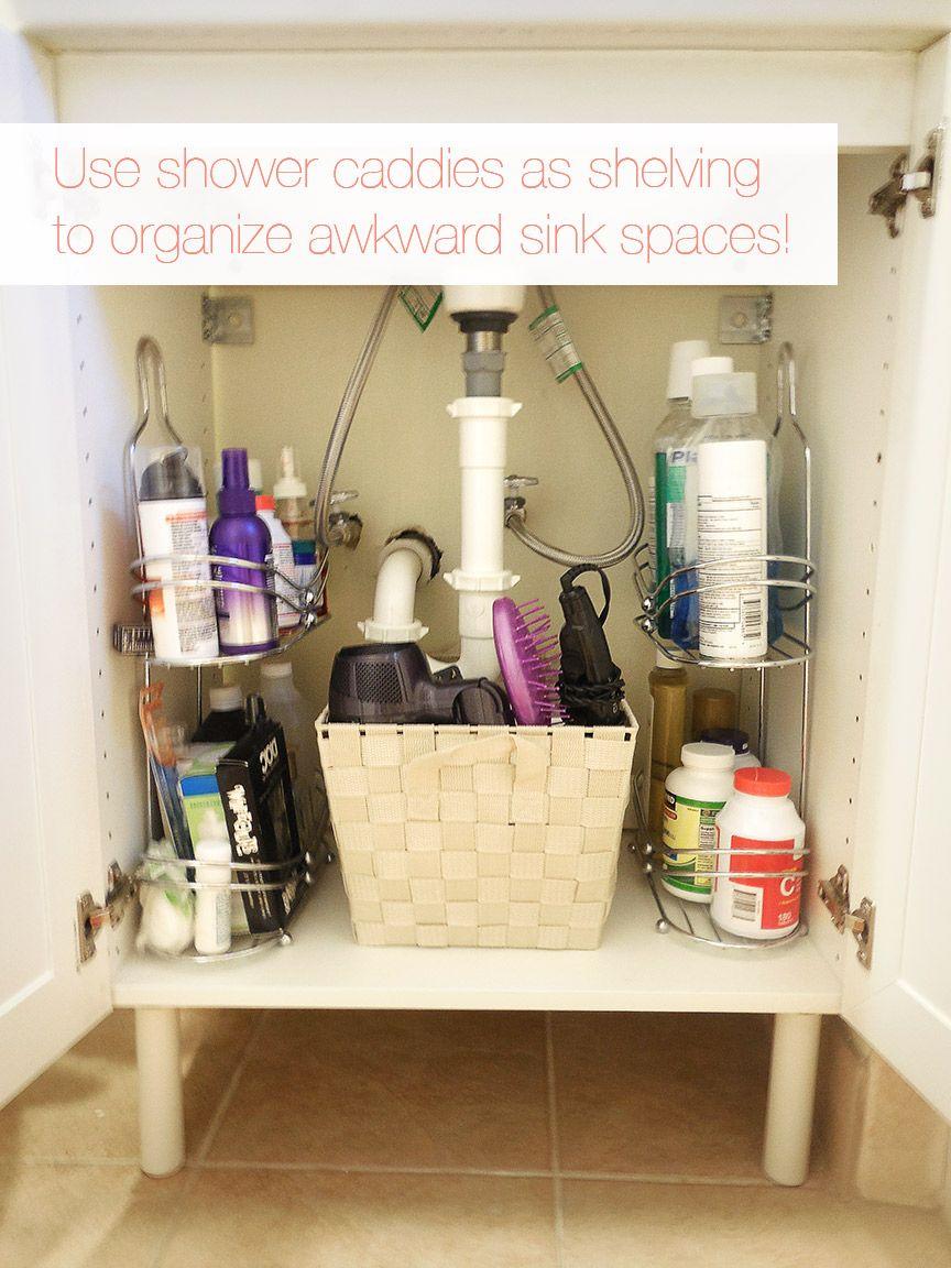 24 Small Bathroom Storage Ideas - Wall Storage Solutions ... on Small Apartment Bathroom Storage Ideas  id=73534