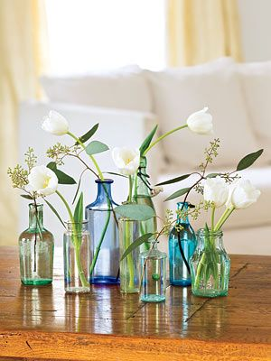 Home Decorating Ideas   Easy Ideas for Home Decor Floral Centerpiece