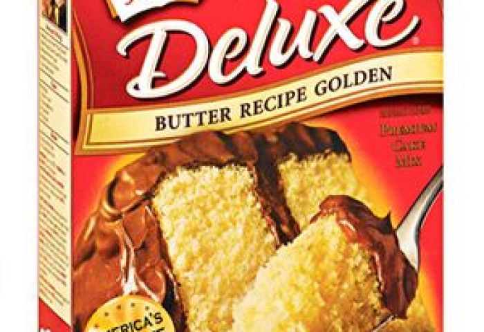 Duncan Hines Moist Deluxe Butter Recipe Golden Premium Cake Mix Review