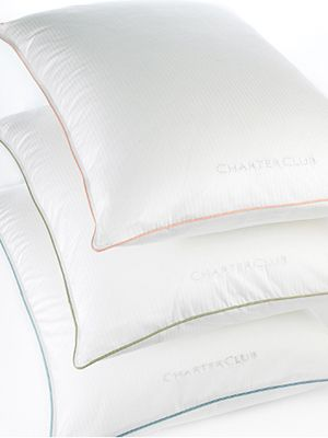 macy s charter club vail down pillow review