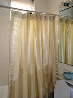how to make your own shower curtain