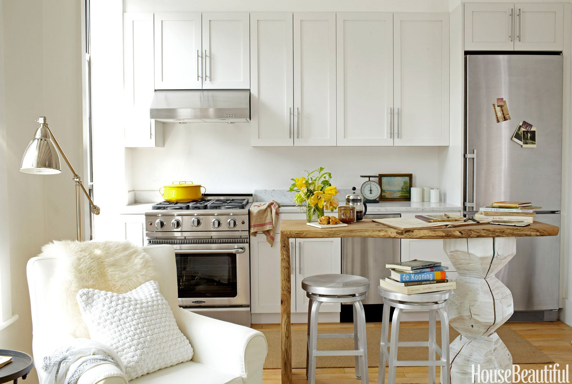 50 Best Small Kitchen Design Ideas - Decor Solutions for ... on Best Small Kitchens  id=35305