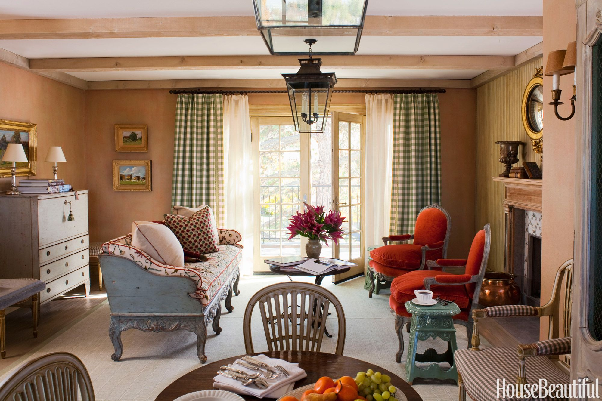 15 Best Small Living Room Ideas - How to Design a Small ... on Decorating Small Living Room  id=58071
