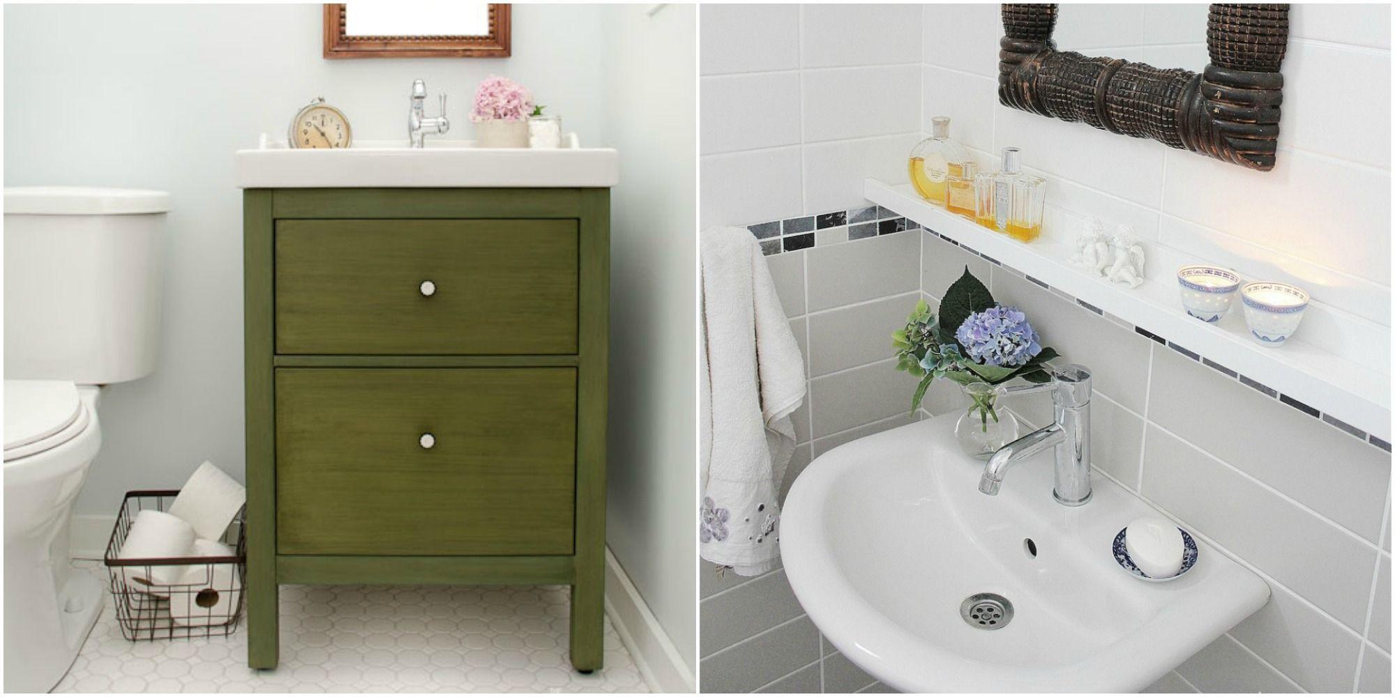 11 ikea bathroom hacks new uses for