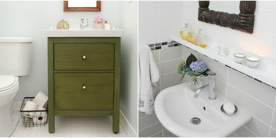 11 IKEA Bathroom Hacks   New Uses for IKEA Items In the Bathroom Squeeze in all the extra storage  and style  your tiny space is missing