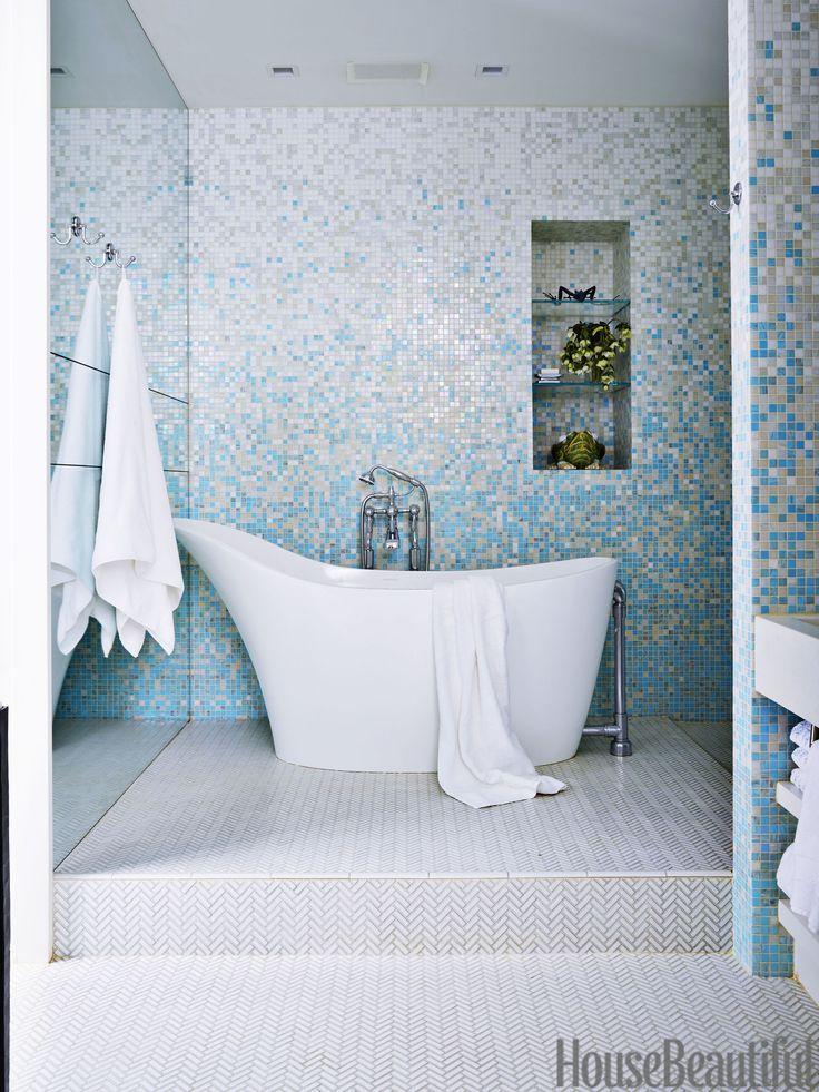 30+ Bathroom Tile Design Ideas - Tile Backsplash and Floor ... on Bathroom Tile Pattern Design  id=95340