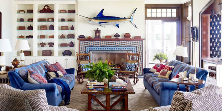Nautical Home Decor   Ideas for Decorating Nautical Rooms   House     image