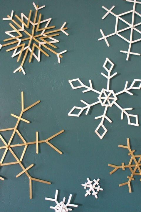 Flocon de neige, décorations de Noël